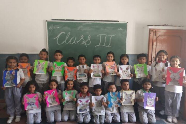 Deepti Public School-Activity