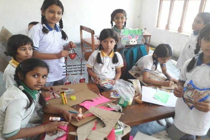 Deepti Public School-Art and Craft Class