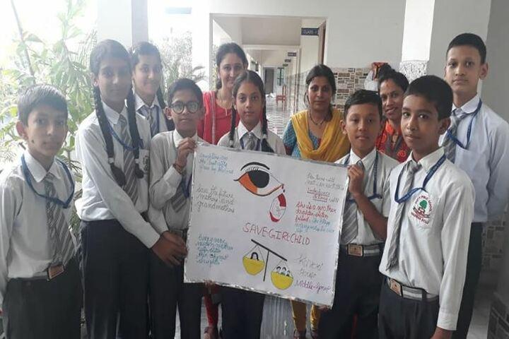 Deepti Public School-Awareness Campaign