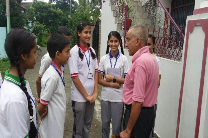 Deepti Public School-Cleanliness Campaign