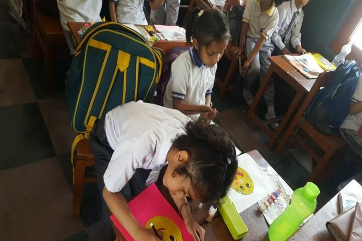 Deepti Public School-Drawing Competition