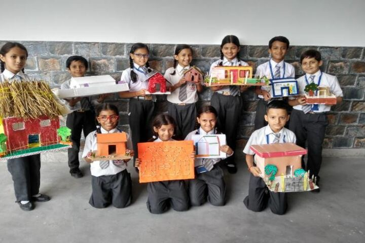 Deepti Public School-House Making Activity