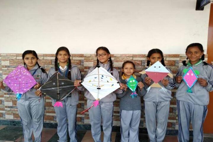 Deepti Public School-Kite Making Activity