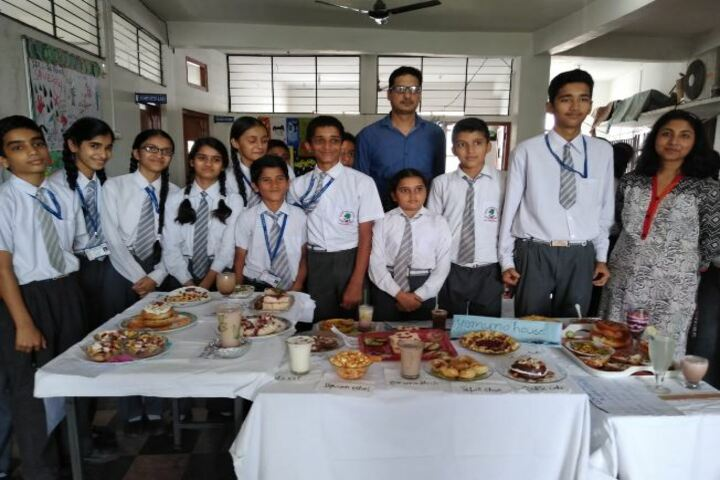 Deepti Public School-Salad Making Competition