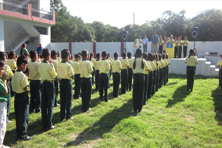 Defence Public School-Morning Assembly