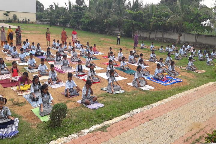Green City English Medium School -  Yoga