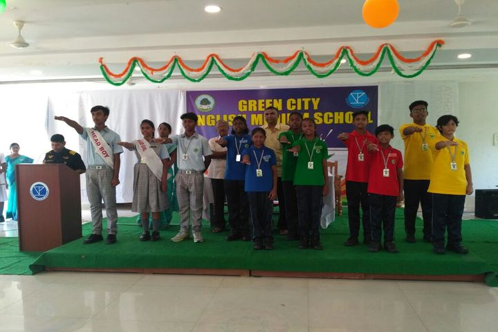 Green City English Medium School - Independence Day
