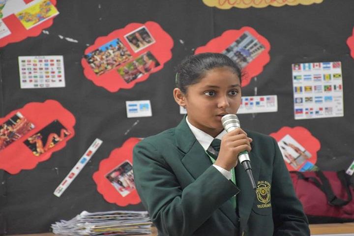 Delhi Public School-Student Speech