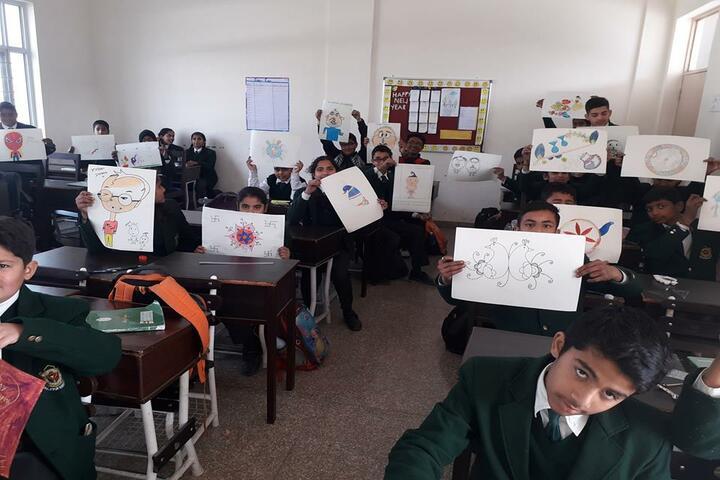 Delhi Public School Daulatpur-Drawing Competition