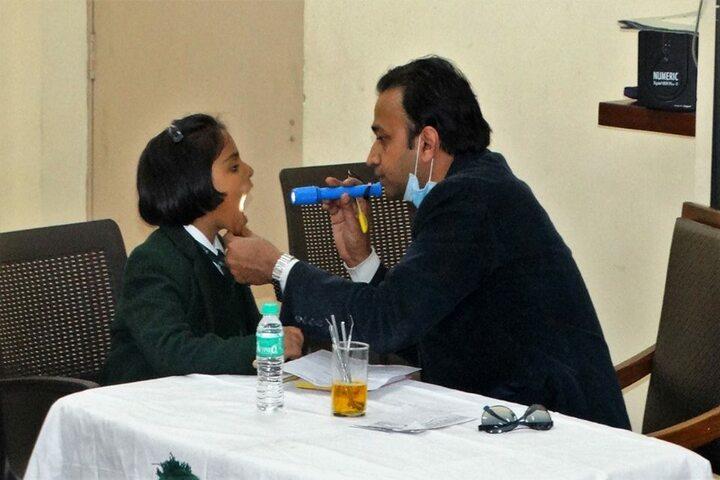 Delhi Public School Daulatpur-Health Checkup