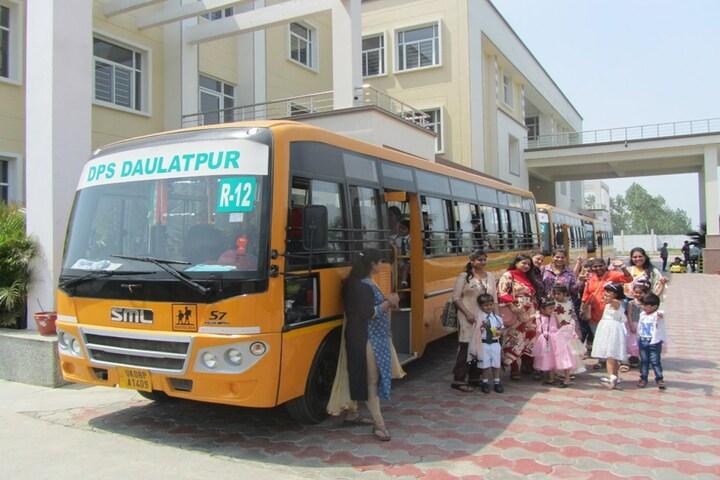 Delhi Public School Daulatpur-Transport