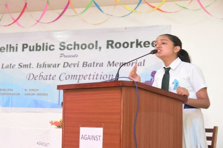 Delhi Public School-Debate Competition
