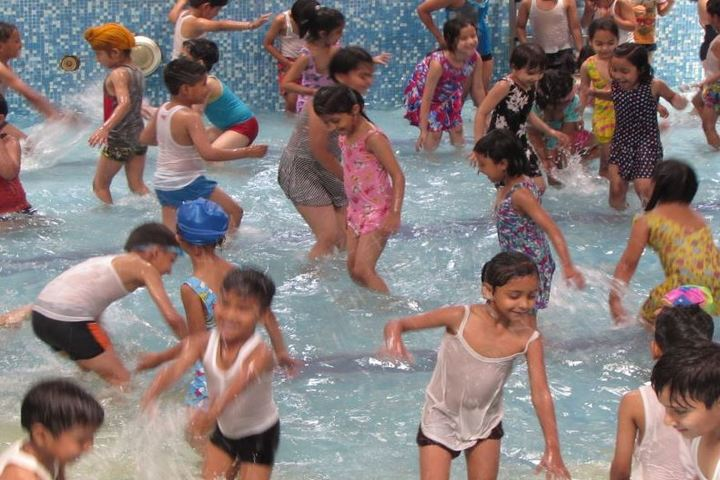 Delhi Public School-Pool Party