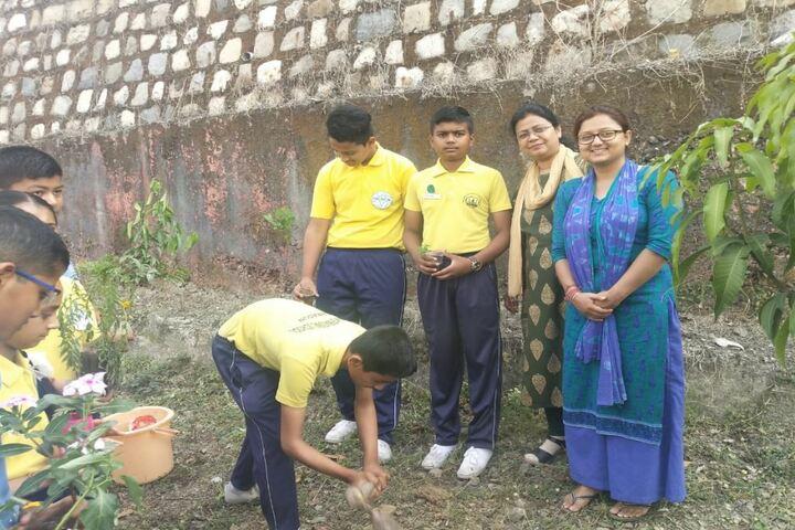 Dharma International School-Green Day