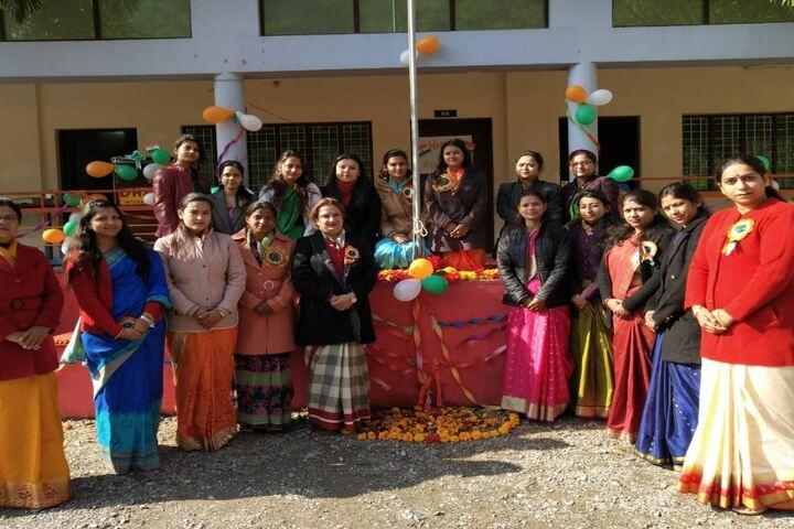 Dharma International School-Republic Day
