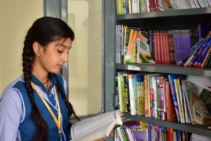 Dhoom Singh Memorial Public School-Library