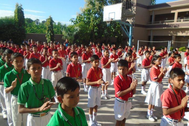 Dhoom Singh Memorial Public School-Assembly