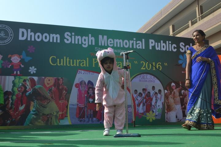 Dhoom Singh Memorial Public School-Fancy Dress