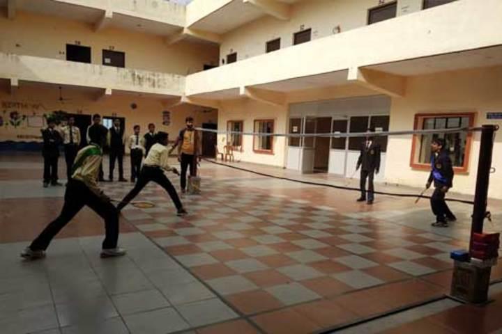 Diksha Rising Stars Public School-Badminton Court