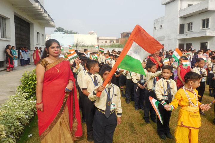 Diksha Rising Stars Public School-Independence Day