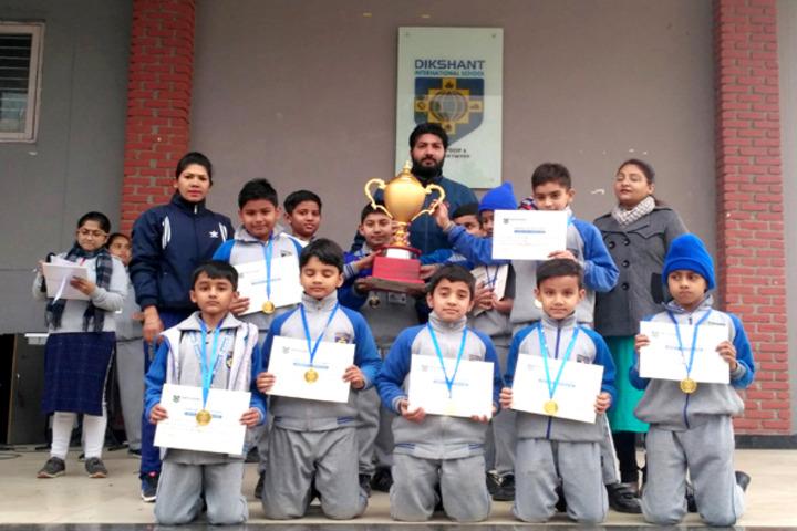 Dikshant International School-Awards