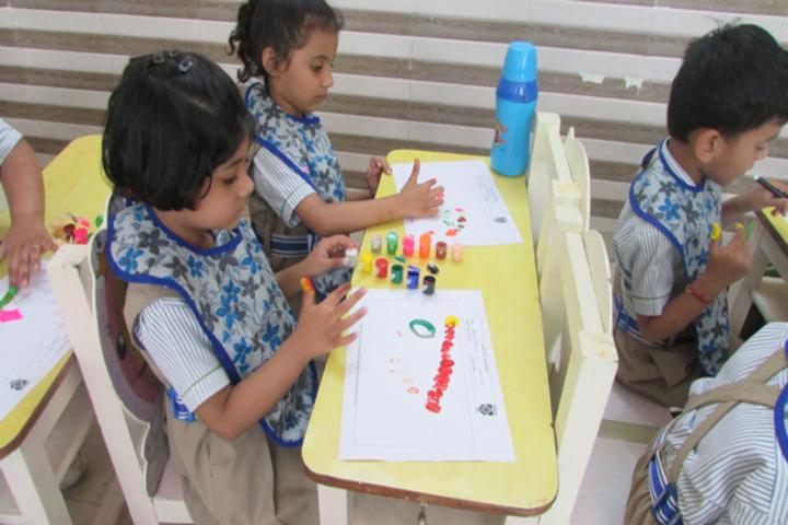 Dikshant International School-Hand Prints
