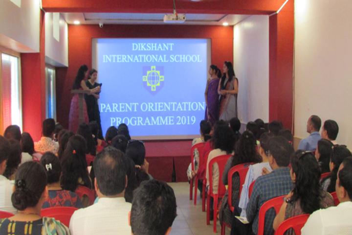 Dikshant International School-Orientation Programme