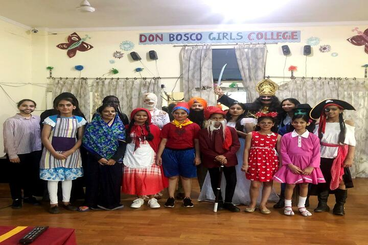 Don Bosco Girls College-Fancy Dress Competition