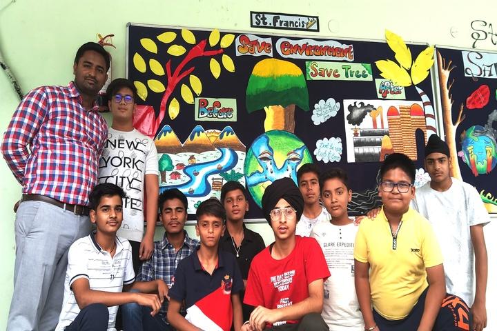 Don Bosco Public School-Board Decocration Activity