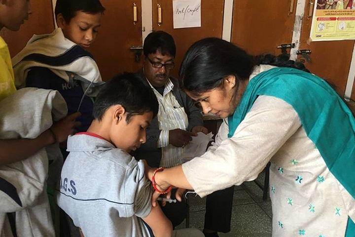 Doon Globel School-Health Checkup