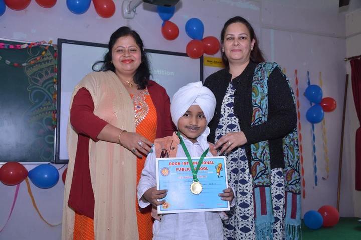 Doon International Public School-Certification