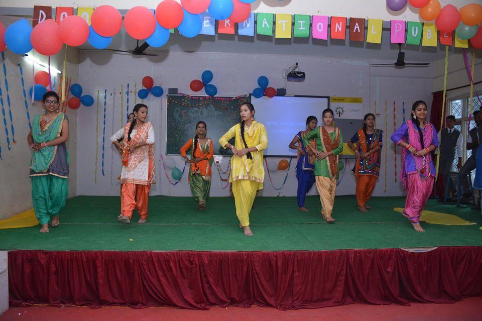 Doon International Public School-Group Dances Competitions