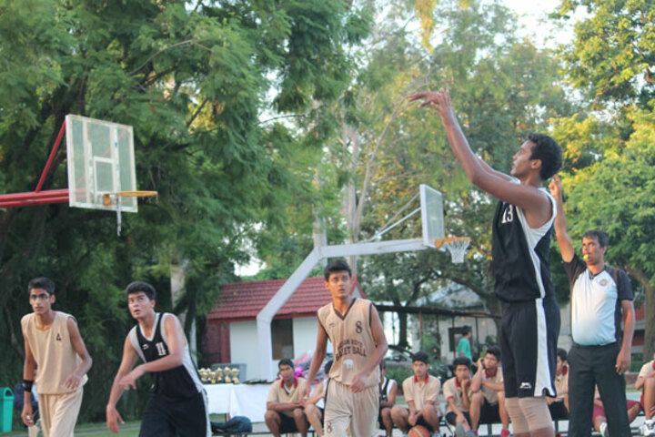Doon International School-Basket Ball Court