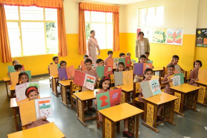 Doon International School-Classroom