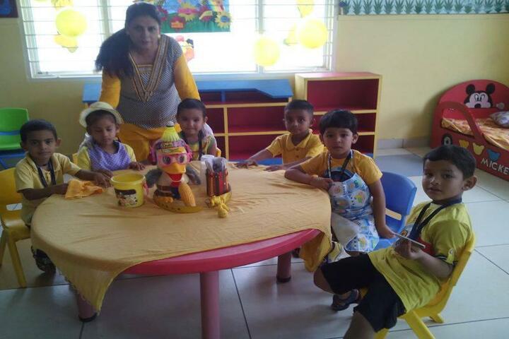 Doon World School-Activity Room