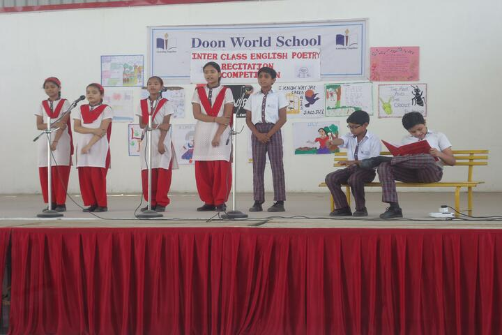 Doon World School-Recitation Competition