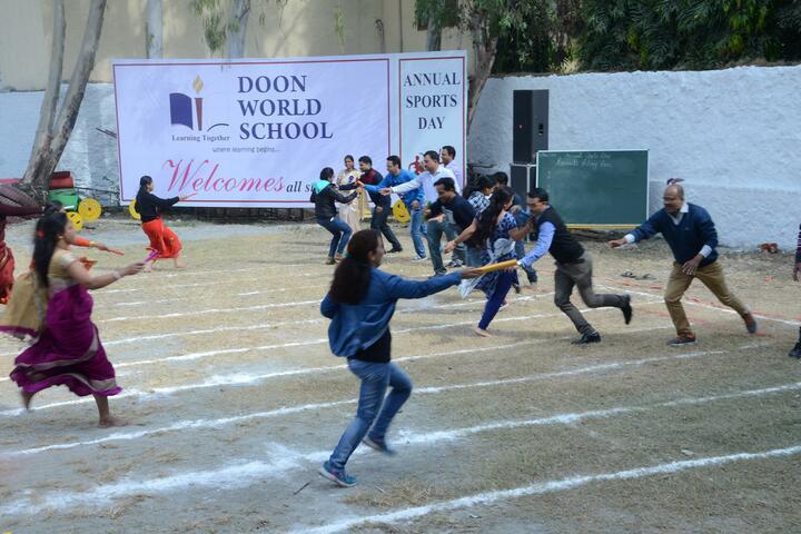 Doon World School-Sports Day