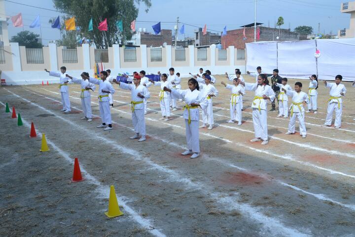 Doon World School-Taekwondo