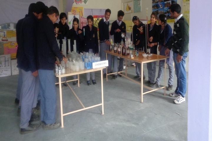Dr Jacques Vigne National School-Chemistry Lab