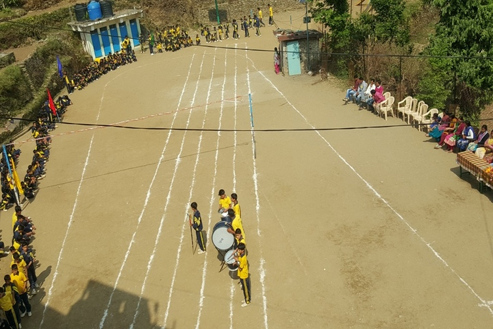 Dr Jacques Vigne National School-Sports Day