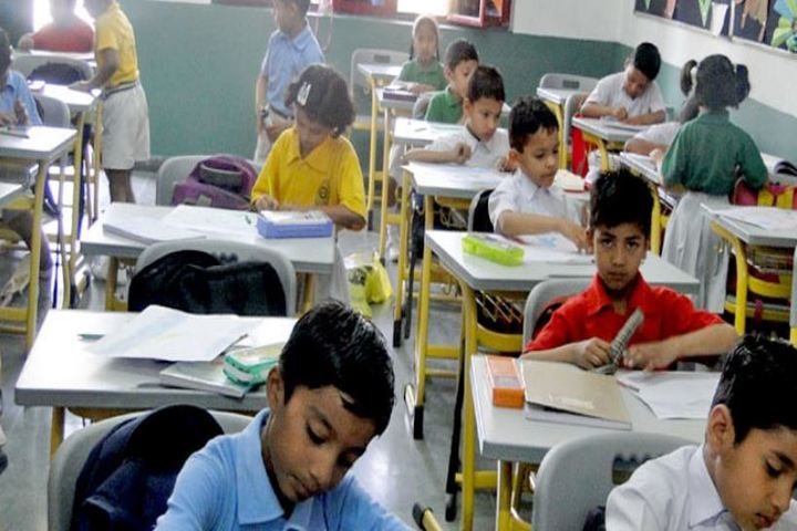 Dronas International School-Classroom
