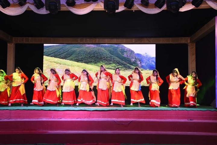 Dronas International School-Dance Performance
