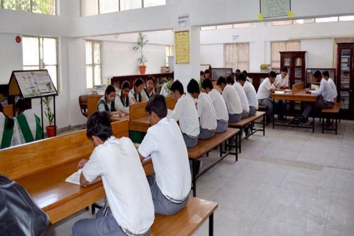 Dronas International School-Library