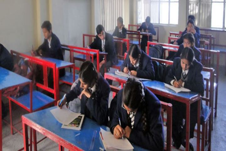 Dronas International School-Senior Classroom