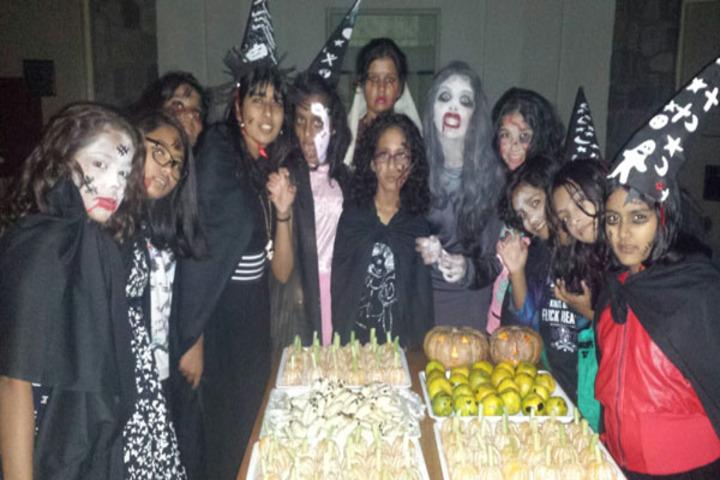 Ecole Globale Girls International School-Hallowen Day