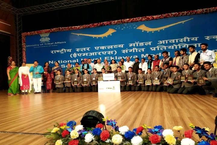 Eklavya Adarsh Awasiya Vidyalaya-Awards