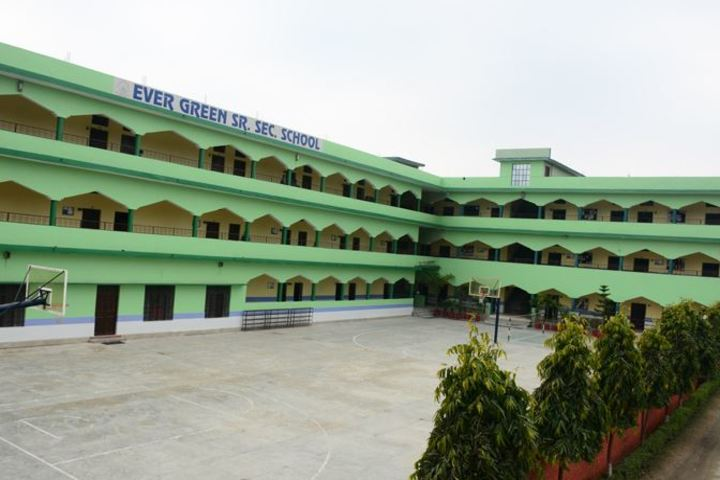 Ever Green Public School-Basket Ball Court