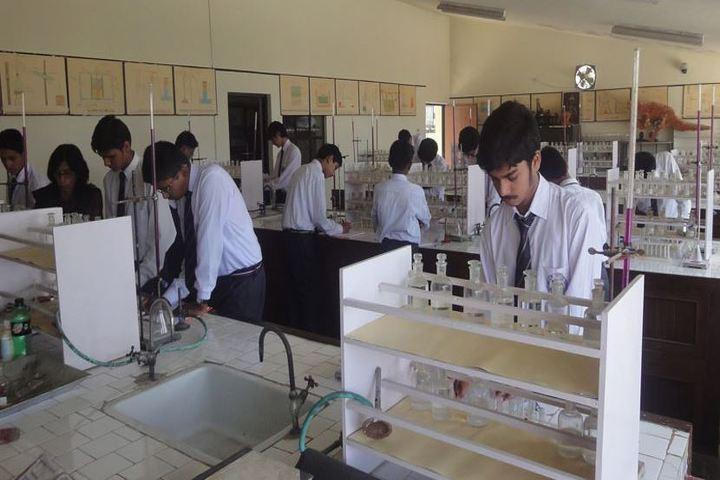 Ghanshyam Das Birla Memorial School-Chemistry Lab