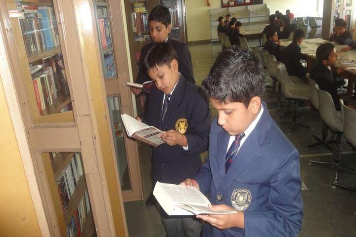 Ghanshyam Das Birla Memorial School-Library