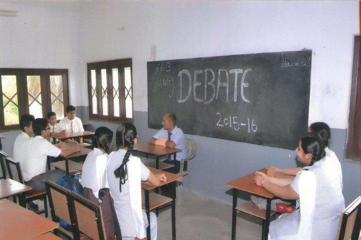 Garden Valley Public School-Debate Competition